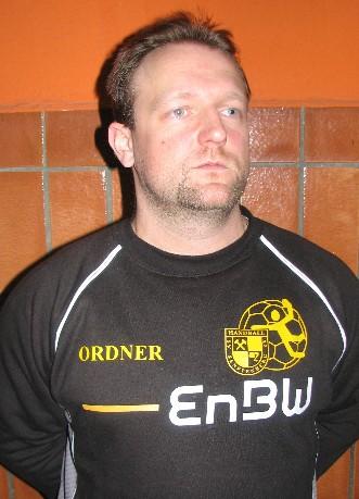 Chefordner und Torwartrainer Thomas Groba